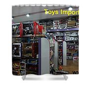 Toys Import Data India Shower Curtain