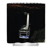 Tr09 Sandia Tram Shower Curtain