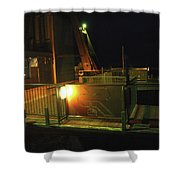 Tr10 Sandia Tram Shower Curtain