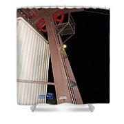Tr15 Sandia Tram Shower Curtain