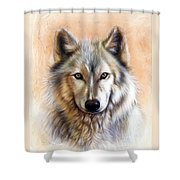 Trace Two Shower Curtain