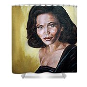 Tracey Ross Shower Curtain