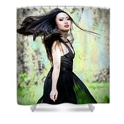 Tracie Dang 1 Shower Curtain
