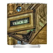 Track 25 Shower Curtain