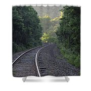 Tracking Daylight Shower Curtain