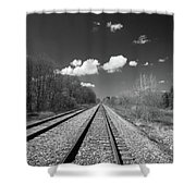 Tracks To Nowhere 1520 Shower Curtain