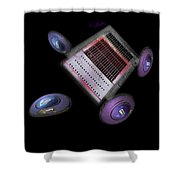 Traction Shower Curtain