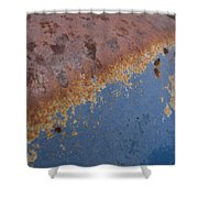 Tractor Decomposition Shower Curtain