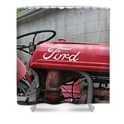 Tractor, Ford  Shower Curtain