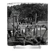 Tractor Graveyard Shower Curtain