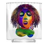 Tracy Mom Color Shower Curtain