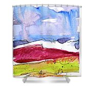 Trader's Bluff Shower Curtain