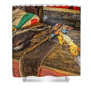 Trading Post Items Hermann Farm_dsc2657_16 Shower Curtain