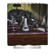 Traditional Barber Shop Shower Curtain