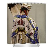 Pow Wow Traditional Dancer 1 Shower Curtain