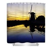 Traditional Dutch Shower Curtain