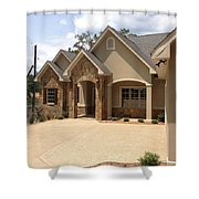 Traditional Exterior Shower Curtain