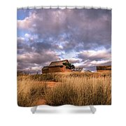 Traditional Hut Of Madagascar Countryside Shower Curtain