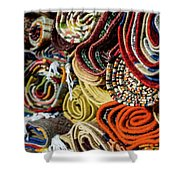 Traditional Moroccan Rugs Shower Curtain