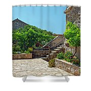 Traditional Old Hamlet Shower Curtain
