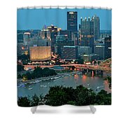 Traditional Panoramic Shower Curtain