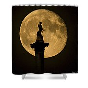 Trafalgar Moon Shower Curtain