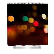 Traffic Lights Number 11 Shower Curtain