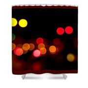 Traffic Lights Number 12 Shower Curtain