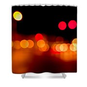 Traffic Lights Number 5 Shower Curtain