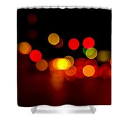 Traffic Lights Number 8 Shower Curtain
