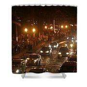 Traffic Malecon Pv Shower Curtain