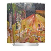 Tragedy Of Loneliness Shower Curtain