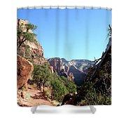 Trail - Zion Park Shower Curtain