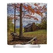 Trail Cabin Shower Curtain