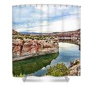 Trail Creek Canyon Shower Curtain