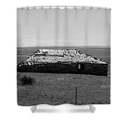 Trail Ghosts Shower Curtain