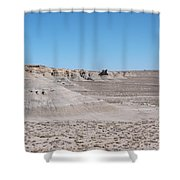 Trail Of The Acients  Shower Curtain