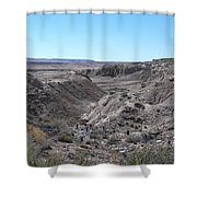 Trail Of The Acients-one Shower Curtain