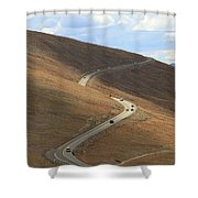 Trail Ridge Road Rocky Mountain National Park Shower Curtain