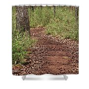 Trail To Beauty Shower Curtain