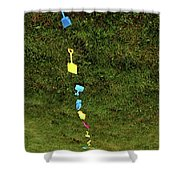 Trail To The Sand Shower Curtain