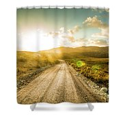 Trail To Trial Shower Curtain