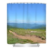 Trail View Shower Curtain