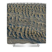 Trails In The Sand Shower Curtain