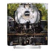 Train - Engine - 4039 American Locomotive Company  Shower Curtain