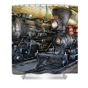 Train - Engine - Steam Locomotives Shower Curtain