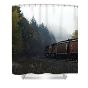 Train 1 Shower Curtain