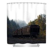 Train 3 Shower Curtain