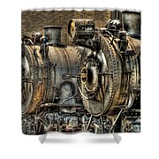 Train - Engine - Brothers Forever Shower Curtain