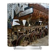Train Graveyard Uyuni Bolivia 14 Shower Curtain